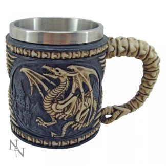 Dragon Skeleton Tankard 15cm