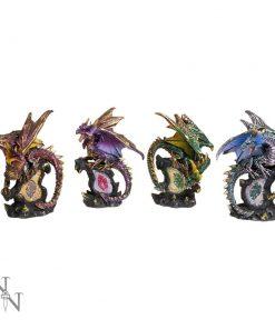 ABCD - Dragon Protector Set S/4  11cm