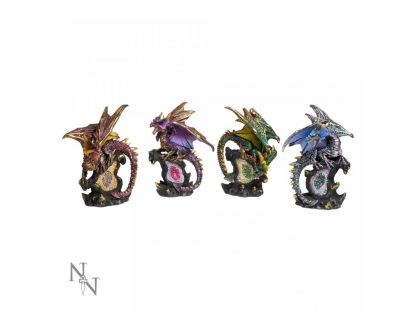 ABCD - Dragon Protector Set S/4  11cm