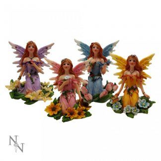 Woodland Fairy Wishes 8cm Set of 4