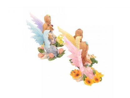 Woodland Fairy Wishes 8cm Set of 4
