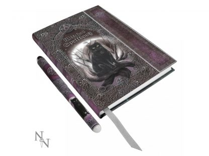 Embossed Witches Spell Book A5 Journal with Pen P6