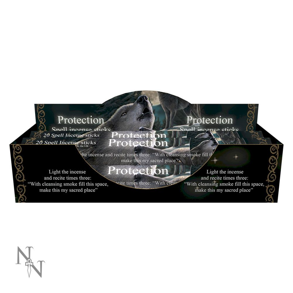 Protection Spell Lavender Incense Sticks (LP)