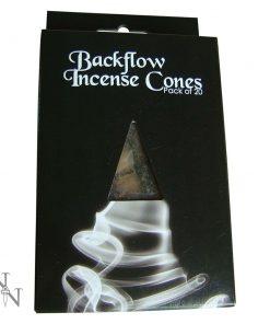 Backflow Incense Cones (pack of 20) Jasmine