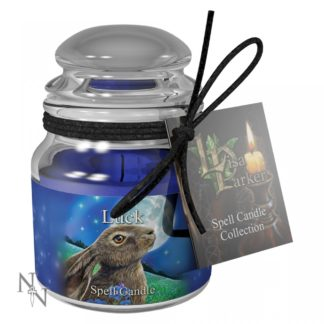 Luck Spell Candle - Sandalwood (LP) 9cm Pack 6