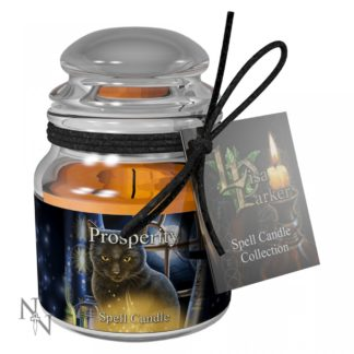 Prosperity Spell Candle - Jasmine (LP) 9cm  pack 6
