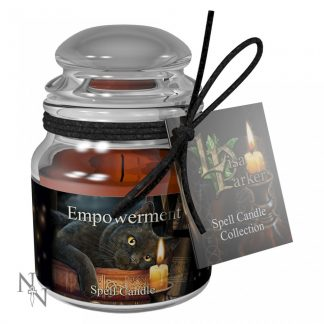 Empowerment Spell Candle - Patchouli(LP)9cm pack 6