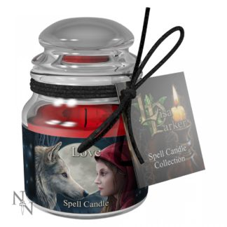 Love Spell Candle - Rose (LP)  9cm (Pack of 6)