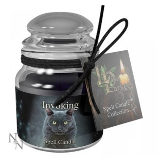 Invoking Spell Candle - Dragon's Blood 9cm Pack 6