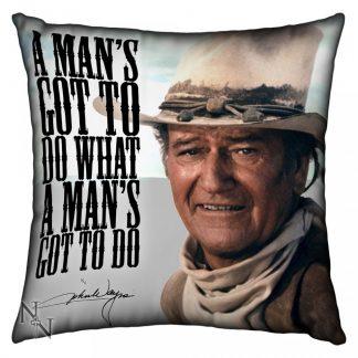 Cushion (Large) John Wayne 53cm