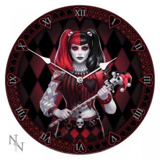 Dark Jester Clock (JR) 34cm