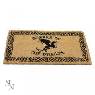 Beware of the Dragon Doormat 45x75cm