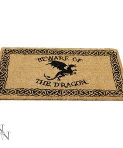 Beware of the Dragon Doormat 45x75cm