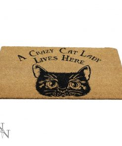 Crazy Cat Lady Doormat 45x75cm