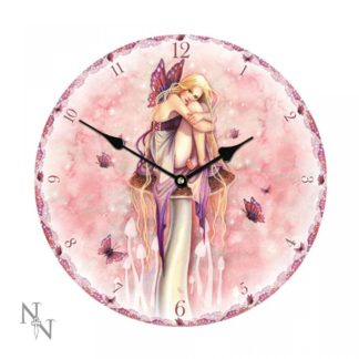 Littlest Fairy Clock (SF) 34cm