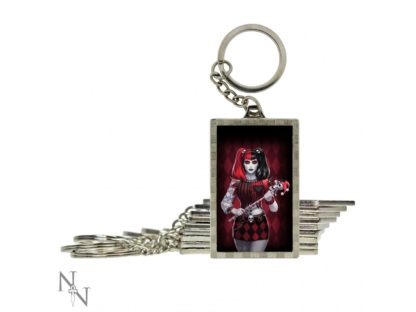3D Keyring Dark Jester (JR) 5.6cm Pack of 10