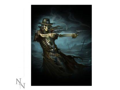 3D Picture Gunslinger (JR)  28.5x38.5cm