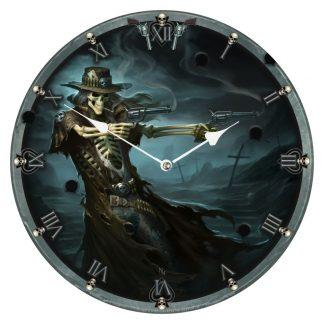 Gunslinger Clock (JR) 34cm