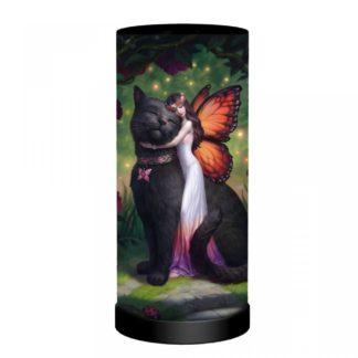 Cat and Fairy Lamp (JR)