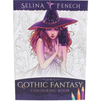 Selina Fenech Colouring Book - Gothic Fantasy