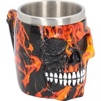Inferno Skull Tankard 16cm