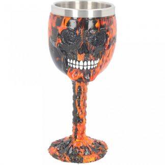 Inferno Skull Goblet 18cm