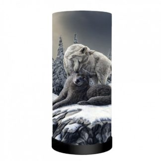Snow Kisses Lamp (LP) 27.5cm