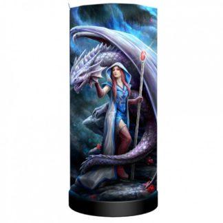 Dragon Mage Lamp (AS) 27.5cm