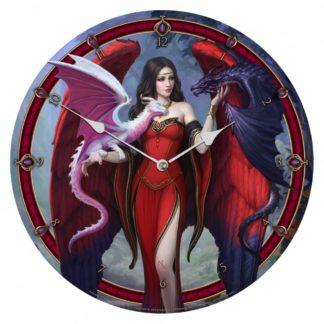 Dragon Mistress Clock (JR) 34cm