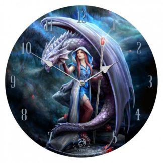 Dragon Mage Clock (AS) 34cm