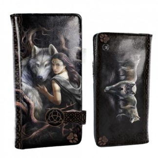 Soul Bond Embossed Purse (AS) 18.5cm
