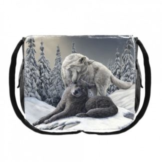 Snow Kisses Messenger Bag (LP) 40cm