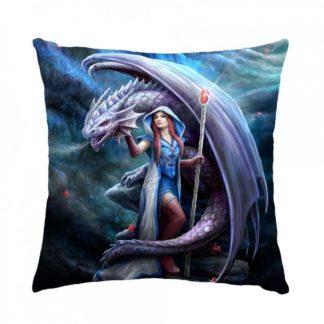 Dragon Mage Cushion (AS) 40cm