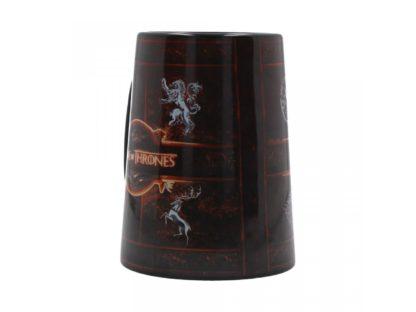 Ceramic Rustic Sigil Tankard (GOT) 13.5cm