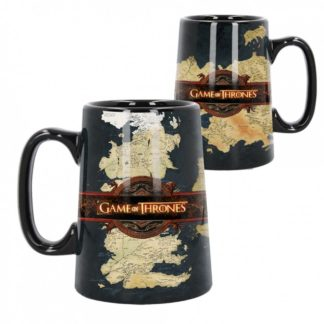 Ceramic Map Tankard (GOT) 13.5cm