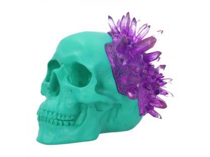 Amethyst Crystal Skull 17.6cm
