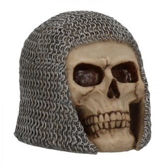 Chainmail Skull 19cm