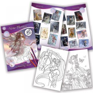 Nene Thomas Fairy Colouring Book