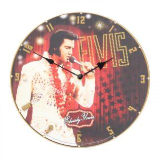 Elvis Clock 34cm