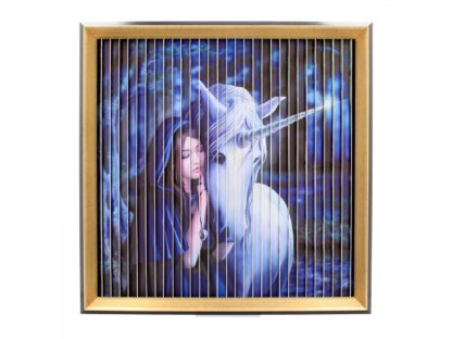 Anne Stokes Unicorns Kinetic Picture (AS) 43cm