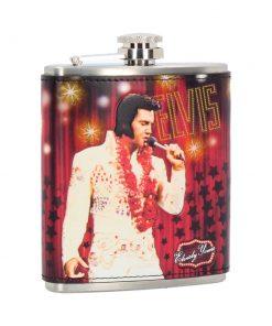 Elvis Hip Flask 7oz