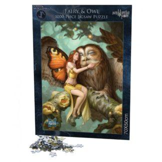 Fairy and Owl Jigsaw (JR) 1000pcs