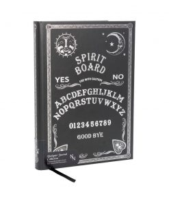 Embossed Journal Black and White Spirit Board 17cm