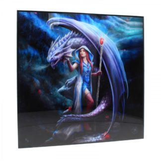 Dragon Mage Crystal Clear Picture 40cm Set of 3