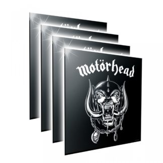Motorhead Logo Crystal Clear Picture 32cm Set of 4
