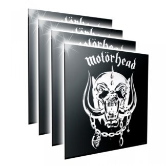 Motorhead Crystal Clear Picture 32cm Set of 4