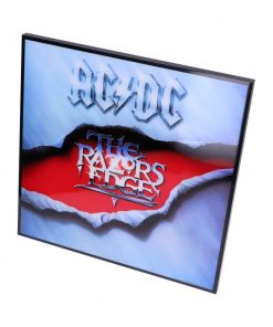 ACDC-The Razors Edge Crystal Clear Pic 32cm