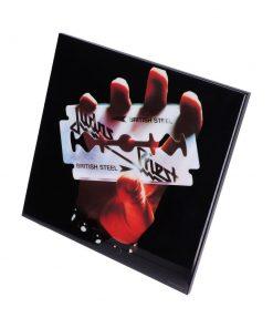 Judas Priest-British Steel Crystal Clear 32cm