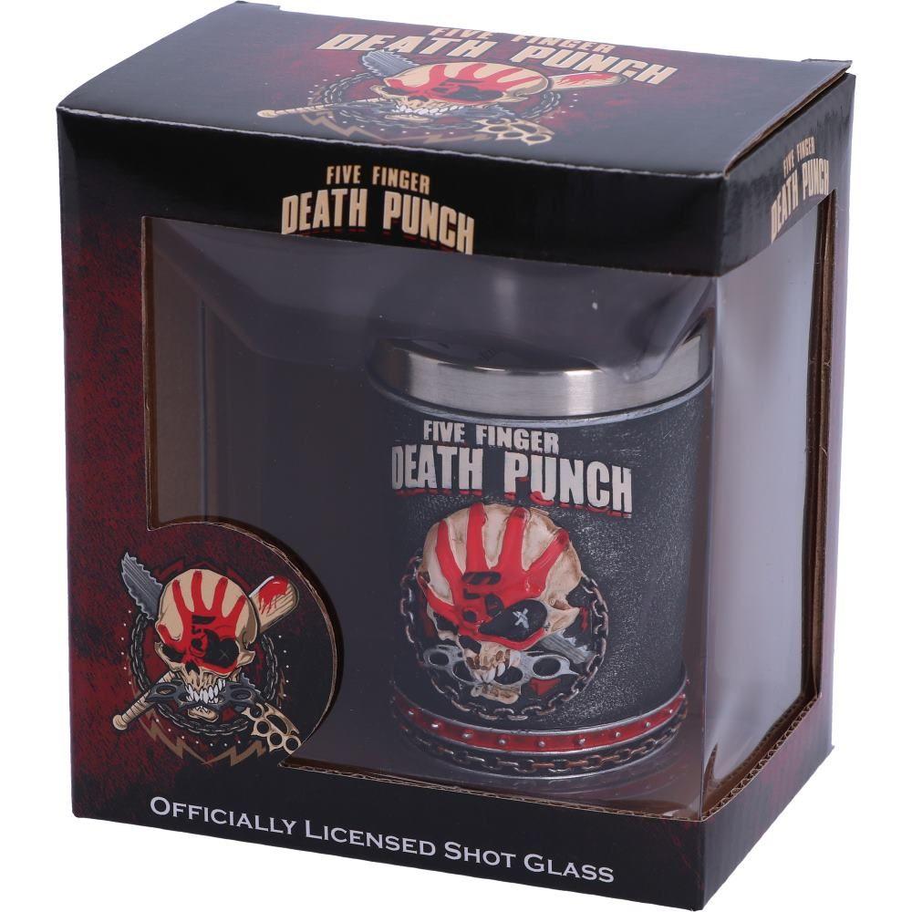 Five Finger Death Punch Shot Glass 7cm