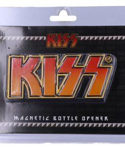 KISS Bottle Opener Magnet 10.5cm